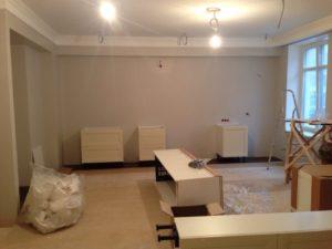 Кухня на заказ белая угловая в Иваново